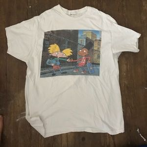 Vintage hey Arnold graphic tee